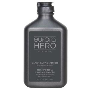 Eufora HERO for Men Black Clay Shampoo 10.1oz